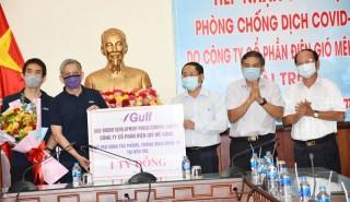 Công ty cổ phần điện gió Mekong hỗ trợ 1 tỷ đồng phòng chống dịch Covid -19