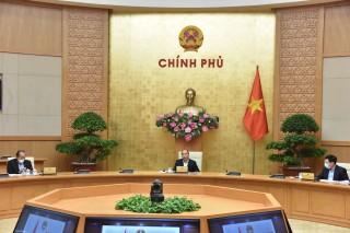 Thủ tướng chủ trì họp Thường trực Chính phủ về phòng chống COVID-19