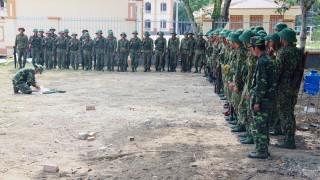 Tiểu đoàn 516, Trung đoàn 895: Quyết tâm thực hiện tốt công tác huấn luyện chiến sĩ mới