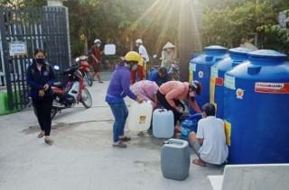 Doanh nghiệp đồng hành hỗ trợ nước ngọt cho người dân Bến Tre