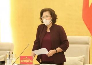 Đảng đoàn Quốc hội cho ý kiến về Đề án bầu cử đại biểu Quốc hội
