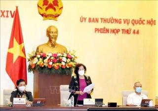 Khai mạc Phiên họp lần thứ 44 của Ủy ban Thường vụ Quốc hội
