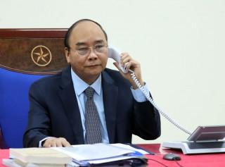 Thủ tướng Nguyễn Xuân Phúc điện đàm với Thủ tướng LB Nga