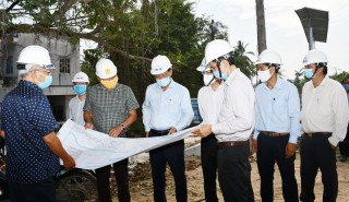 Kiểm tra tiến độ triển khai Dự án cải tạo, nâng cấp quốc lộ 57 và Dự án ĐH.173