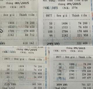 Nguyên nhân hóa đơn tiền điện tăng
