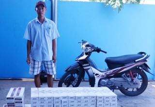 Bắt đối tượng vận chuyển thuốc lá nhập lậu