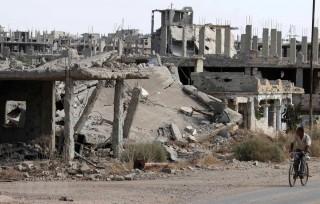 Phiến quân sát hại 9 nhân viên của tòa nhà chính phủ ở miền Nam Syria