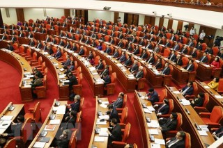 Ngày làm việc thứ hai Hội nghị lần thứ 12 Ban Chấp hành TW Đảng