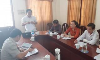 Khảo sát tình hình quản lý ngân sách tại huyện Bình Đại