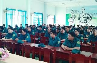Xây dựng lực lượng dân quân tự vệ đáp ứng yêu cầu, nhiệm vụ