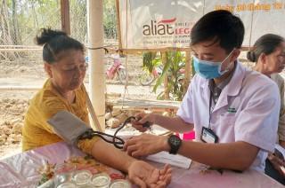 Hành trình tình nguyện vì sức khỏe cộng đồng