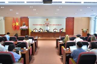 Kỳ họp thứ 9, Quốc hội khóa XIV chính thức khai mạc vào sáng ngày 20-5-2020