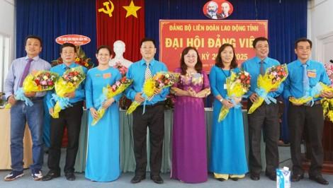 Đảng bộ Liên đoàn Lao động tỉnh Đại hội đảng viên nhiệm kỳ 2020 - 2025