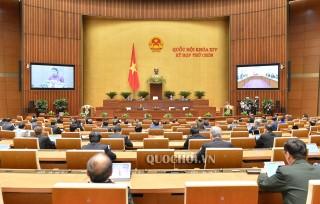 Thông cáo số 2 Kỳ họp thứ 9, Quốc hội khóa XIV