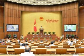 Thông cáo số 6, Kỳ họp thứ 9, Quốc hội khóa XIV