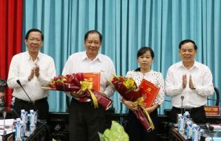 Tỉnh ủy công bố các quyết định chỉ định Tỉnh ủy viên