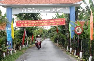 Phú Đức phấn đấu đạt xã nông thôn mới nâng cao