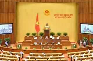 Thông cáo số 8, Kỳ họp thứ 9, Quốc hội khóa XIV