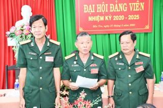 Hội Cựu chiến binh Đại hội đảng viên nhiệm kỳ 2020 - 2025