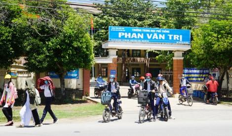 Tự hào ngôi trường mang tên Phan Văn Trị