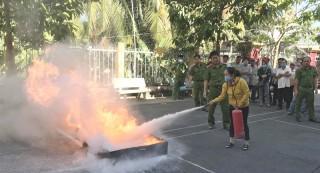 Kiểm tra công tác phòng cháy, chữa cháy