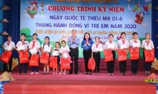 Kỷ niệm Ngày Quốc tế thiếu nhi 1-6 và Tháng hành động Vì trẻ em năm 2020
