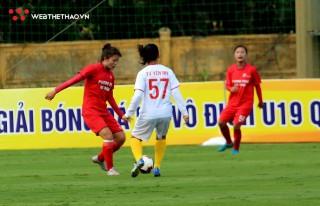Khai mạc giải bóng đá nữ U19 Quốc gia 2020 – Mưa bàn thắng