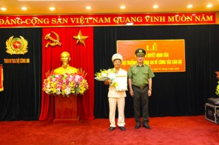Bổ nhiệm Đại tá Phạm Hồng Tuyến giữ chức Phó Chánh Thanh tra Bộ Công an