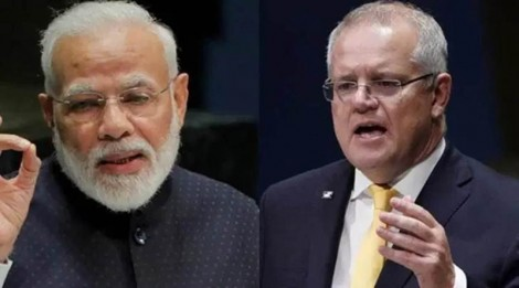 Ấn Độ - Australia họp tổ chức thượng đỉnh trực tuyến