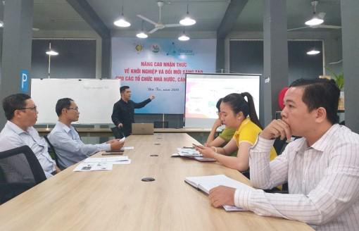 Tập huấn kiến thức khởi nghiệp đổi mới sáng tạo
