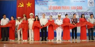 Khánh thành bàn giao 2 công trình trường học tại huyện Thạnh Phú