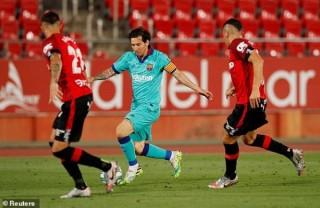 Barca đại thắng ngày trở lại La Liga