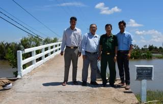 Khảo sát giao thông vùng ven sông, biển huyện Thạnh Phú