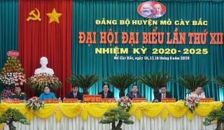 Khai mạc Đại hội đại biểu lần thứ XII Đảng bộ huyện Mỏ Cày Bắc, nhiệm kỳ 2020 - 2025