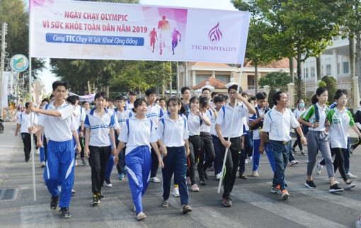 Chuẩn bị Ngày chạy Olympic vì sức khỏe toàn dân
