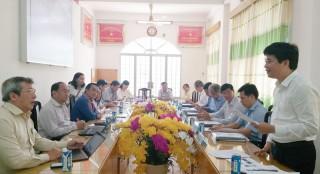 Nghiệm thu đề tài nghiên cứu khoa học cấp tỉnh về phát triển du lịch Thạnh Phú