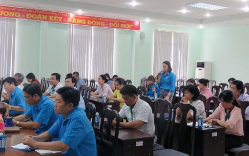 Công đoàn tác động ngành hữu quan thực hiện gói hỗ trợ của Chính phủ đối với công nhân lao động