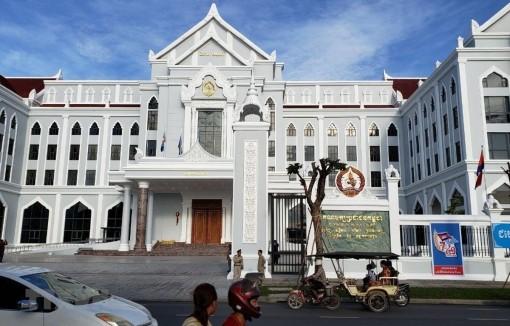 Đảng Nhân dân Campuchia khánh thành trụ sở mới tại Phnom Penh