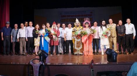 Đoàn Cải lương Hương Tràm - Cà Mau giao lưu biểu diễn tại tỉnh