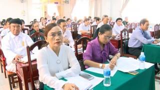 MTTQ Việt Nam TP. Bến Tre sơ kết 6 tháng đầu năm 2020