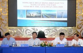 Tổng kết công tác điện lực và năng lượng tái tạo