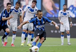 Young & Sanchez nổ súng, Inter đánh tennis với Brescia