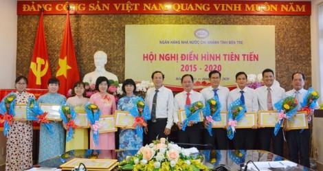Hội nghị điển hình tiên tiến Ngân hàng Nhà nước Chi nhánh tỉnh Bến Tre