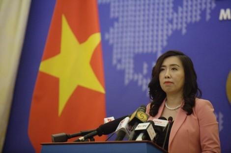 Việt Nam phản đối Trung Quốc tiến hành tập trận ở Hoàng Sa