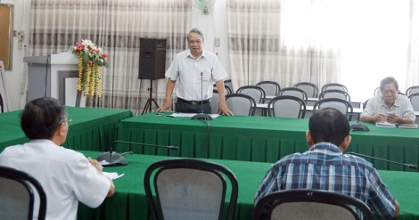 Văn nghệ sĩ, báo chí góp ý dự thảo Văn kiện Đại hội Đảng bộ tỉnh