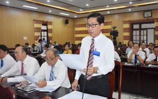 Phiên chất vấn và trả lời chất vấn tại Kỳ họp thứ 16 HĐND tỉnh khóa IX