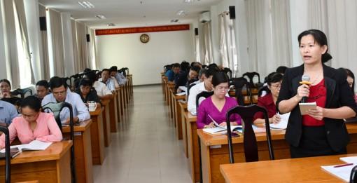 Hội nghị góp ý dự thảo Văn kiện Đại hội XI Đảng bộ tỉnh