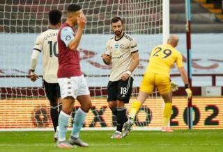 Fernandes, Greenwood, Pogba cùng lập công, M.U chỉ còn kém Leicester 1 điểm
