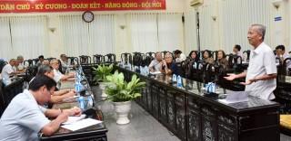 Hội nghị góp ý dự thảo Văn kiện Đại hội XI Đảng bộ tỉnh, nhiệm kỳ 2020 - 2025