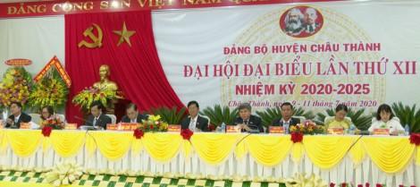 Khai mạc Đại hội đại biểu Đảng bộ huyện Châu Thành lần thứ XII, nhiệm kỳ 2020 - 2025